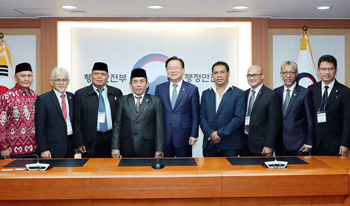 Members of the Indonesian House of Regional Representatives visited Korea to learn from local public corporation policies